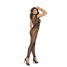 Crochet footless bodystocking with open crotch.  - 81339