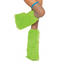Furry boot covers. - 2427