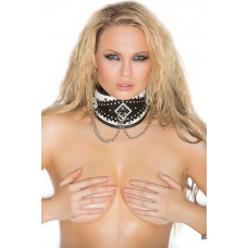 Posture collar with chain detail. *Available Boxed - L9709