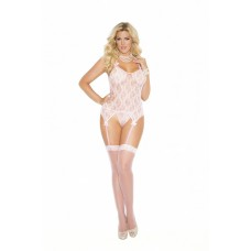 Lace camisette, g-string and stockings.  - 1152Q
