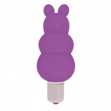 Excite Silicone Ripple Bullet Vibe- Purple