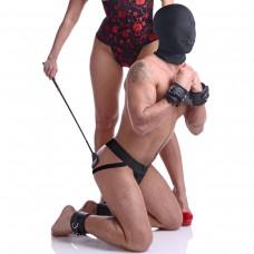 Locking Hinged Cock Ring- Medium